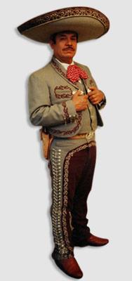 Mexican traje de charro